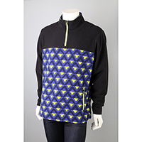 Mens Yoga 1/3 Zip Top